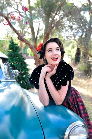Miss MonMon by Angie Delaire Pinup Photography